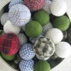 DIY Plaid Ornaments