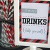 DIY party decorations {Signs}
