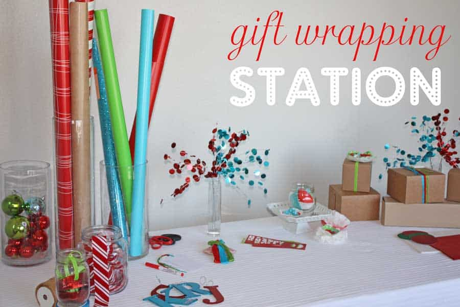 gift wrapping party